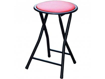Skládací taburet Red 30 cm PATIO