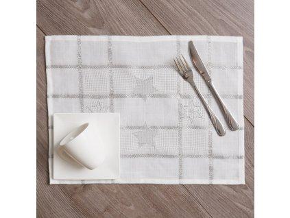 Podložka na stůl z polyesteru Silver Star 30 x 40 cm AMBITION