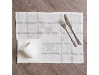 Textilní sada do jídelny Silver Star 8-dílů AMBITION