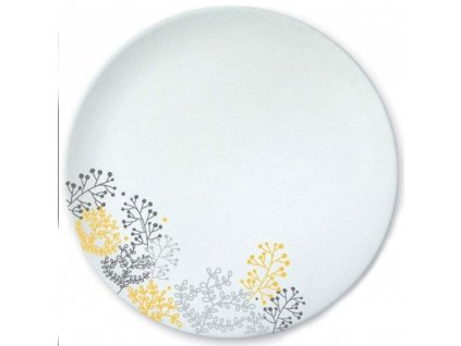 Mělký talíř Nordic Yellow-Gray 25 cm AMBITION