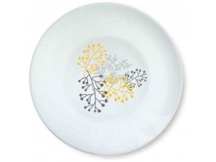 Hluboký talíř Nordic Yellow-Grey 20 cm AMBITION