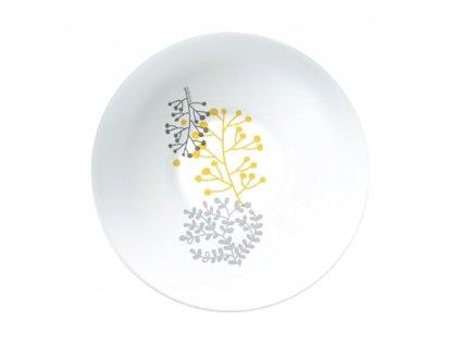 Salátová mísa Nordic Yellow-Gray 16,5 cm AMBITION