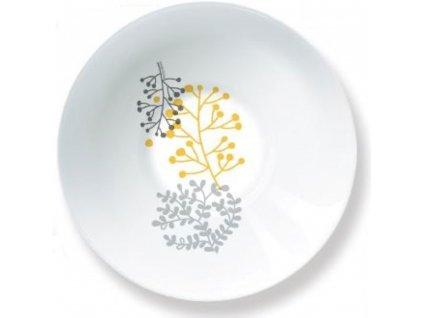 Salátová mísa Nordic Yellow-Grey 16,5 cm AMBITION
