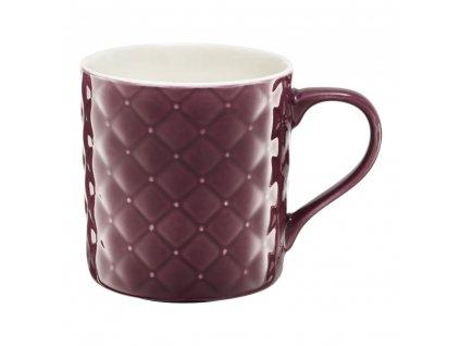 Porcelánový hrnek Glamour Quilted Violet 420 ml AMBITION