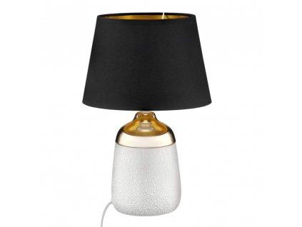 Stolní lampa Living Gold-Black 24 x 24 x 37 cm DOMOTTI