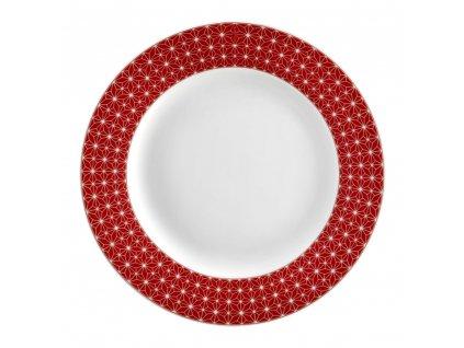 Dezertní talíř Galaxy Red 19 cm AMBITION