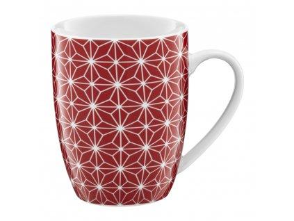 Porcelánový hrnek Galaxy Red 370 ml AMBITION