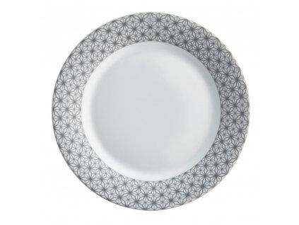 Mělký talíř Galaxy Gray 23,5 cm AMBITION