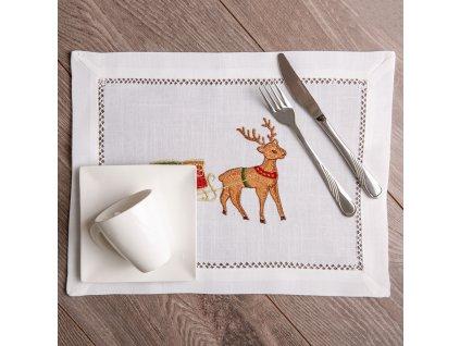 Podložka na stůl z polyesteru Christmas 30 x 40 cm AMBITION