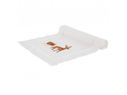 Dekorační běhoun / štola z polyesteru Christmas 40 x 150 cm AMBITION