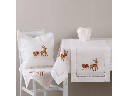 Dekorační ubrus z polyesteru Christmas 130 x 160 cm AMBITION