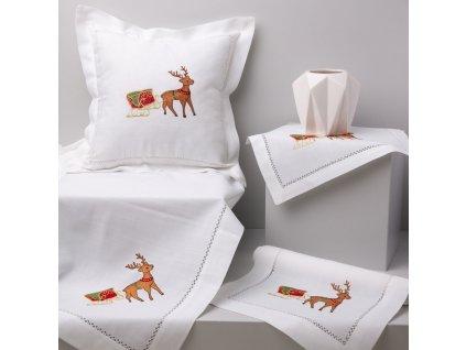 Textilní sada do jídelny Christmas 8-dílů AMBITION