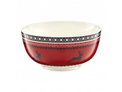 Salátová mísa Winter Red 13 cm AMBITION