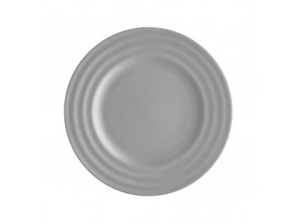 Dezertní talíř Wave Light Grey 20 cm AMBITION