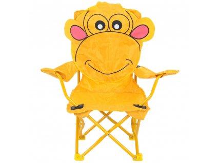 Skládací dětská židle Opička PATIO