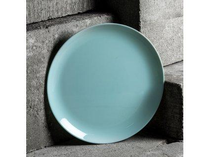 Mělký talíř Diwali Turquoise 25 cm LUMINARC