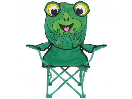 Skládací dětská židle Žabka PATIO