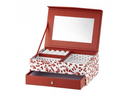 Lepenková krabička se zrcadlem Look Holly 20 x 14 x 8 cm AMBITION