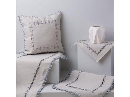 Textilní sada do jídelny Ornament 8-dílů AMBITION