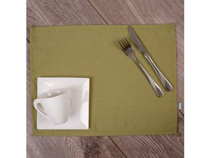 Sada 2 podložek na stůl z polyesteru 30 x 40 cm D009-22SB PATIO