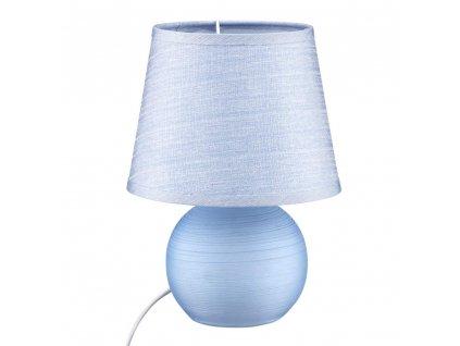 Stolní lampa Living Blue 17 x 17 x 23 cm DOMOTTI