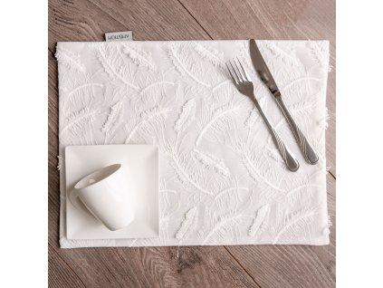 Podložka na stůl z polyesteru Lovely Feather 30 x 40 cm AMBITION