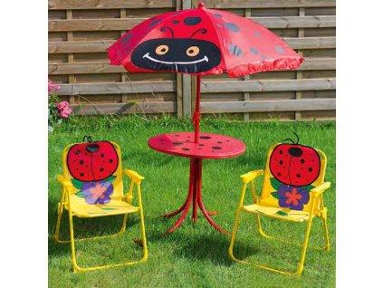 Souprava dětského zahradního nábytku Beruška PATIO