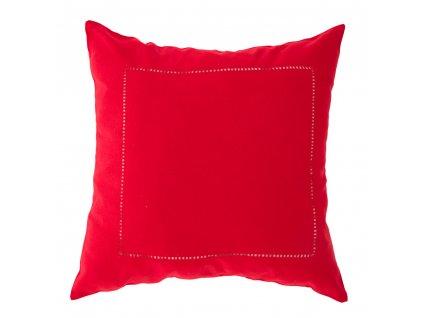 Povlak na polštář z polyesteru Classical Red 42 x 42 cm AMBITION