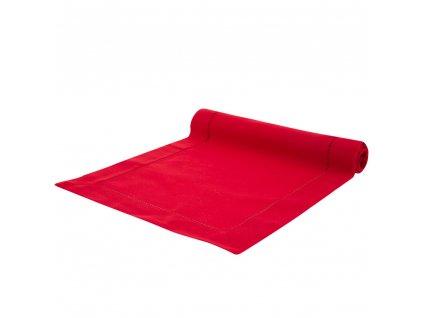 Dekorační běhoun / štola z polyesteru Classical Red 40 x 150 cm AMBITION