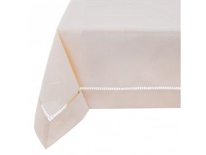 Dekorační ubrus z polyesteru Classical Ecru 160 x 280 cm AMBITION