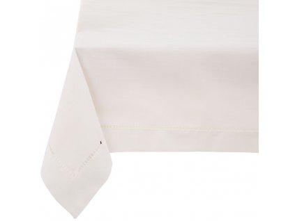 Dekorační ubrus z polyesteru Classical White 130 x 160 cm AMBITION