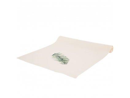 Dekorační běhoun / štola z polyesteru Botanic Pteridium 40 x 150 cm AMBITION