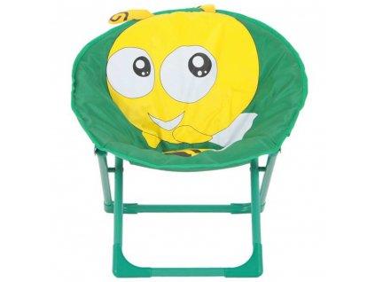 Skládací dětské zahradní křeslo Včelička PATIO