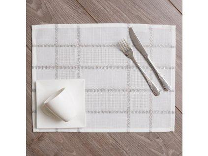 Podložka na stůl z polyesteru Silver 30 x 40 cm AMBITION