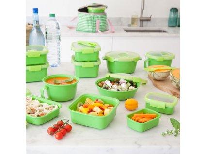 Nádobka na potraviny To Go Soup & Noodles Green 17 x 11 cm CURVER
