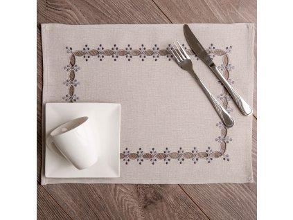 Podložka na stůl z polyesteru Ornament 30 x 40 cm AMBITION