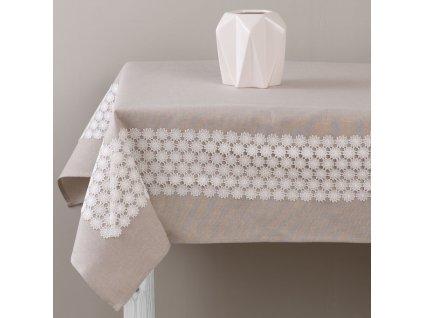 Dekorační ubrus z polyesteru Delicate 160 x 280 cm AMBITION