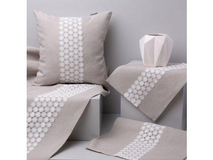 Dekorační běhoun / štola z polyesteru Delicate 40 x 150 cm AMBITION