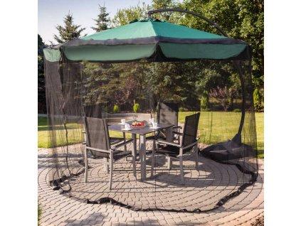 Moskytiéra na zahradní slunečník 3,5 m PATIO