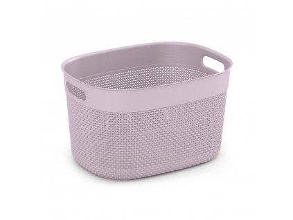 Plastový koš Filo Pink 18 l KIS