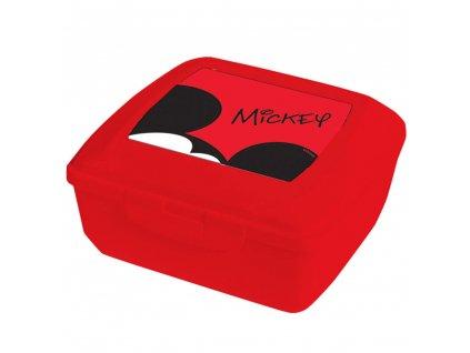 Svačinový box Mickey Red 14,5 x 13 cm DISNEY / AMBITION