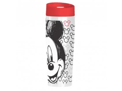 Termohrnek Mickey White-Red 400 ml DISNEY / AMBITION