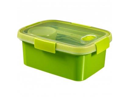 dóza 3v1 To Go Lunch Kit Green 20 x 15 x 9 cm, 1200 ml CURVER