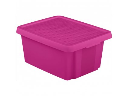 Box s víkem Essentiale Violet 16 l CURVER