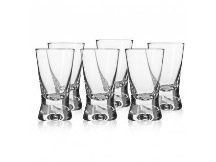 Sada 6 skleniček na likér / vodku Basic 25 ml KROSNO