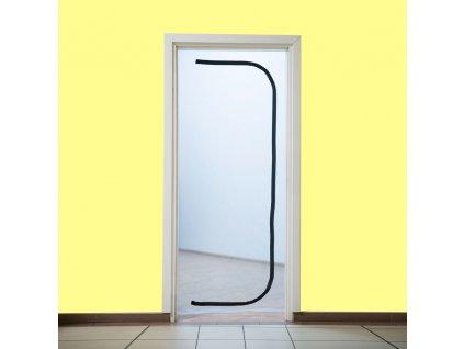 Dveře proti prachu 215 x 100 cm