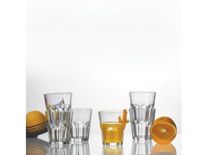 Sada 6 nízkých sklenic Acapulco 270 ml AMBITION