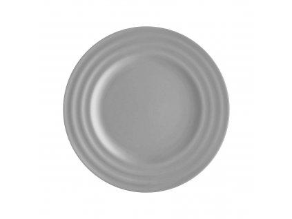 Mělký talíř Wave Light Grey 26 cm AMBITION