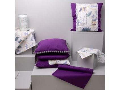 Bavlněný ubrus Lavender 90 x 90 cm A083-08HB PATIO