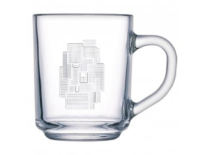 Skleněný hrnek Cubic 250 ml LUMINARC
